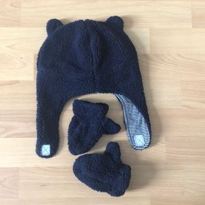 Carter's Sherpa Hat & Mittens